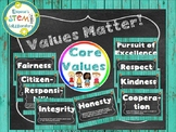 Values Matter Posters