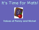 Values of Penny & Nickel
