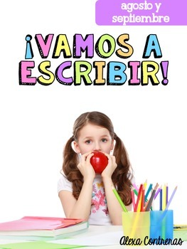 Vamos a Escribir {Vocabulary Cards & Writing Activities In