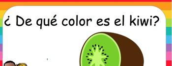 Vamos a comer el arco iris! Frutas y verduras fruits, vegetables and colors