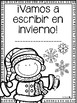 Vamos a escribir en invierno - Winter Writing Center - Spanish & English