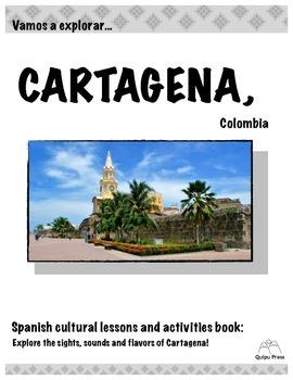 ¡Vamos a explorar Cartagena! Colombia Activity Book
