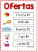 Vamos al supermercado/Let's go to the supermarket Activity Pack & Role Play