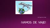 Vamos de viaje Vocabulary Presentation (Avancemos 2 U1L1)