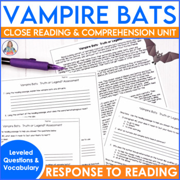Informational Text Vampire Bats