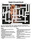 Vampire Crossword Puzzle