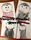 Vampire Directed Drawing