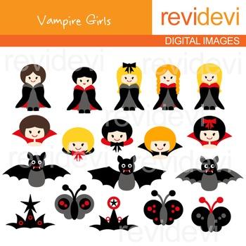 Vampire Girls Clip art FREE