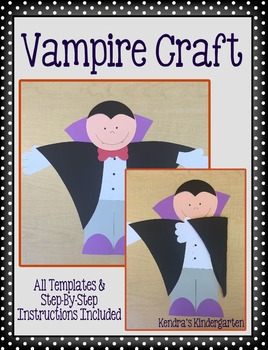 Vampire Halloween Craft