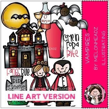 Vampires by Melonheadz LINE ART