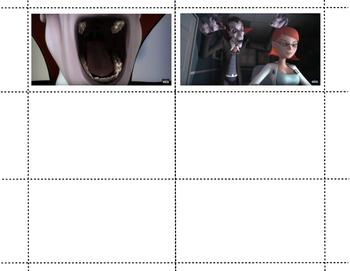 Vampire at the Dentist: Go Fish Cards