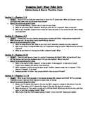 Vampires Don't Wear Polka Dots (Bailey School Kids, Dadey/Jones) - Novel Study