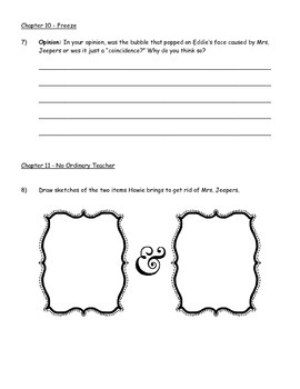 Vampires Don't Wear Polka Dots - Guided Reading Packet