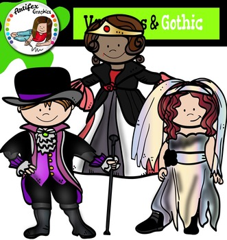 Vampires & Gothic- Halloween kids-