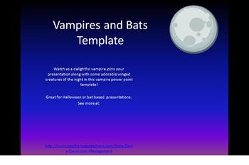 Vampires and Bats Powerpoint Template