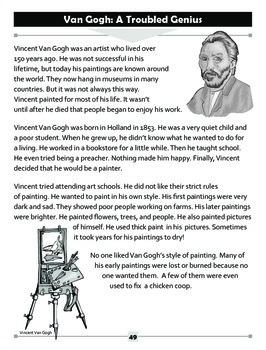 Van Gogh: A Troubled Genius