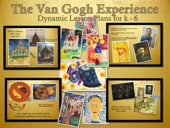 Elementary Art Lessons: Van Gogh Impressionism K-5 Bundle & Marzano and Dr Who