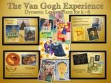 Elementary Art Lessons: Van Gogh Impressionism K-5 Bundle