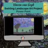Vincent van Gogh Swirling Landscape Art Project (Power Poi