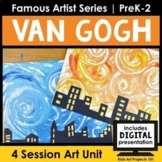 Van Gogh Project-Based Art Unit for Famous Artist Series i