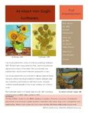 Van Gogh Sketchbook Prompt-Sunflowers