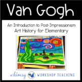 Van Gogh Starry Night Art Lesson (from Art History for Elementary Bundle)