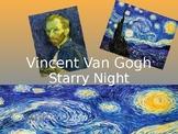 Van Gogh & Starry Night Powerpoint