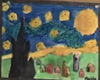 Van Gogh Starry Night- Visual Arts Complete Lesson Plan
