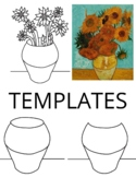 Van Gogh Still-Life Lesson Plan and Project for Primary or Elementary Age