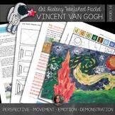 Van Gogh Art History Workbook and Activities - Starry Night