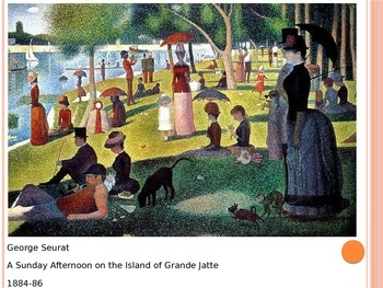 Van Gogh and Seurat PowerPoint