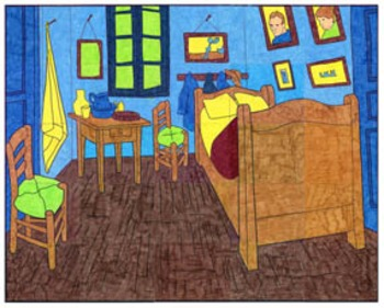 Van Gogh's Bedroom Mural
