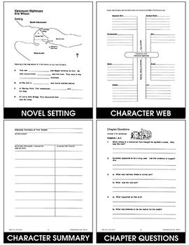 Vancouver Nightmare (Novel Study) Gr. 6-8