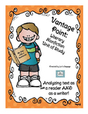 Literary Nonfiction Unit of Study: Genre Vantage Point for Reading and Writing