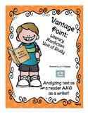 Literary Nonfiction Unit of Study: Genre Vantage Point for