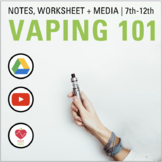 Vaping PowerPoint & Notes: E-Cigarettes, Juuls & More
