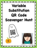 Variable Substitution QR Code Scavenger Hunt