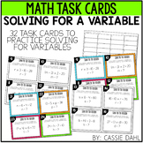 Variable Task Cards