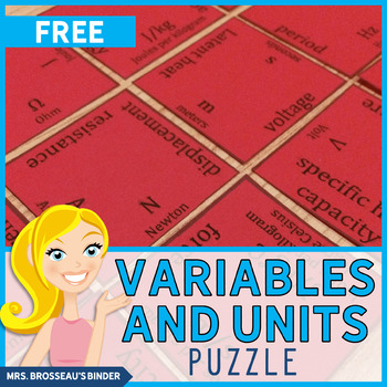 Variable and Unit Matching - A Physics Review Puzzle