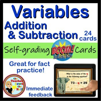 Variables Addition and Subtraction