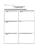 Variables, Expressions & Simple Equations Task Cards