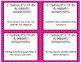 Variables & Expressions Task Cards