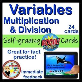 Variables Multiplication and Division