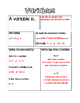 Variables Note Page