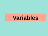 Variables PowerPoint