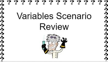 Variables Review