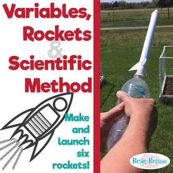 Variables, Rockets & Scientific Method | Make and Launch Rockets using STEM