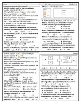 Variables SOL 5.18