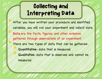 Data, Graphing and Conclusions Lesson