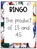 Variables and Expressions BINGO
